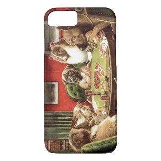 Lustige Hunde, die Poker iPhone 7 Fall spielen iPhone 8/7 Hülle