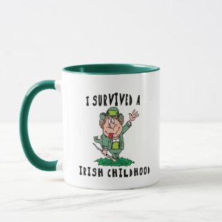 Lustige Iren - ich überlebte eine irische Kindheit Tasse