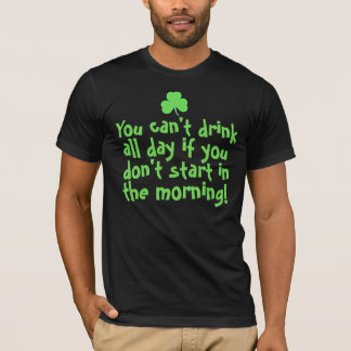 Lustige Iren St. Paddys Tages T-Shirt