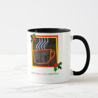 Lustige Java-WeihnachtsTasse Tasse