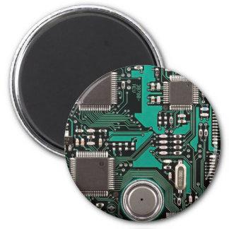 Lustige Leiterplatte Magnete