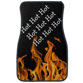 Lustige lodernde heiße Auto-Boden-Matten Automatte
