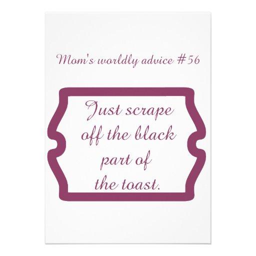 Lustige Mamma zitiert auf T-Shirts und Geschenken Individuelle Einladungskarten