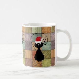 Lustige modische wunderliche Patchwork Kaffeetasse