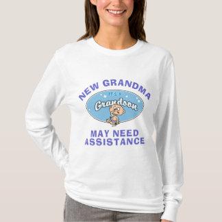 Lustige neue Großmutter-neuer Enkel-T - Shirt