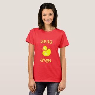 Lustige nullenten gegeben T-Shirt
