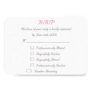 Lustige personalisierte Hochzeit UAWG 8,9 X 12,7 Cm Einladungskarte