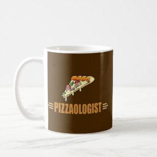 Lustige Pizza Kaffeetasse