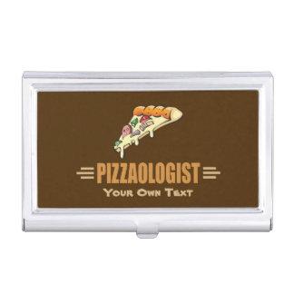 Lustige Pizza Visitenkarten Etui