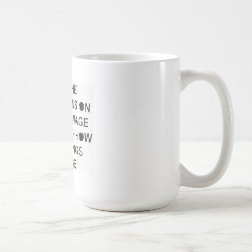 Lustige politische Kaffee-Tasse