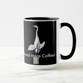 Lustige Reiherkaffee-Tasse Tasse