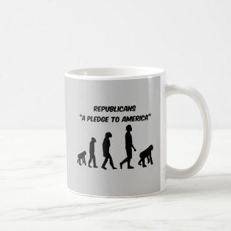 Lustige Republikaner Kaffeetasse