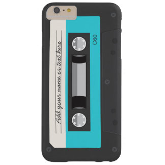 Lustige Retro Musik-Kassetten-Gewohnheit Barely There iPhone 6 Plus Hülle