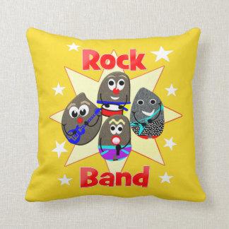 Lustige Rockband-Rock-Malerei-Fans Kissen