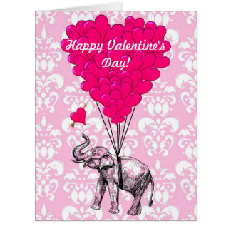 Lustige Romantische Elefant Valentinsgru0026#252 ...