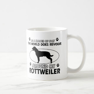 Lustige ROTTWEILER Entwürfe Kaffeetasse