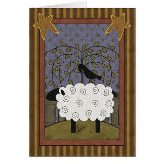 Lustige Ruhestands-Schafe Karte