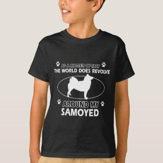 lustige SAMOYED-Entwürfe T-Shirt
