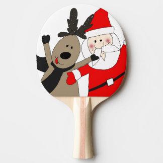 Lustige Sankt und Ren #1 Tischtennis Schläger