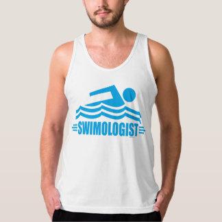 Lustige Schwimmen Tank Top