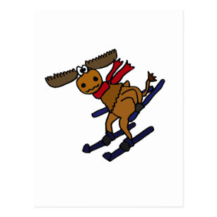 Lustige Skifahren Postkarten Zazzlech