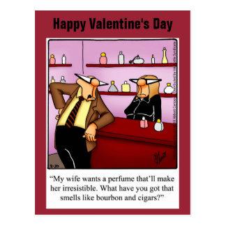 Lustige Spaß-Postkarte des Valentines Tages Postkarten