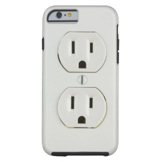 Lustige Steckdose Tough iPhone 6 Hülle