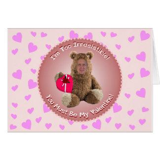 Lustige Valentinstag-Karte: Karte