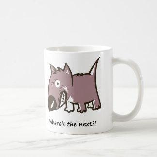 Lustige, verärgerte Hündchen-Tasse Kaffeetasse