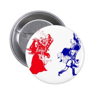lustige viktorianische Heirat Runder Button 5,1 Cm