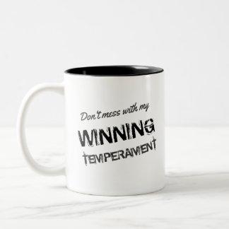 Lustige Wahl 2016 mein gewinnendes Temperament Zweifarbige Tasse