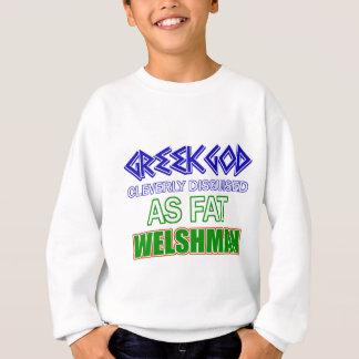 Lustige Waliser-Entwürfe Sweatshirt