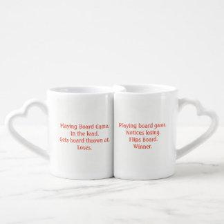 Lustige wunde Verlierer-Liebhaber-Tassen Liebestassen