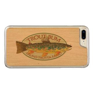 Lustigen Bachforelle-Anglers Carved iPhone 8 Plus/7 Plus Hülle