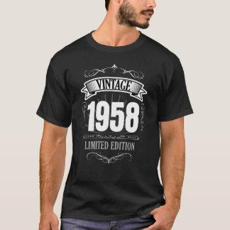 Lustiger 60. T - Shirt des Geburtstags-Vintage