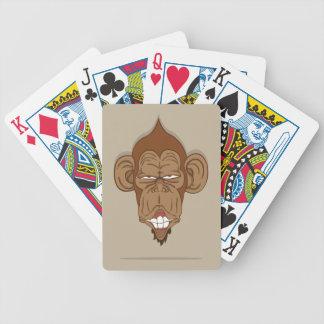 Lustiger Affe Bicycle Spielkarten