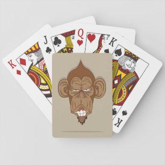 Lustiger Affe Spielkarten