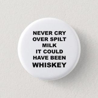 Lustiger Alkohol-Zitat-Knopf Runder Button 3,2 Cm