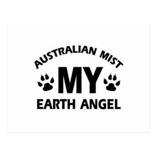 lustiger Australier mis-Haustierentwurf Postkarte