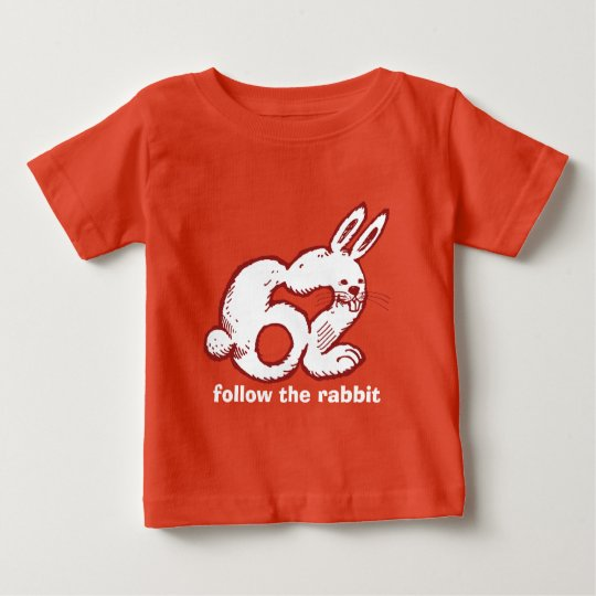 lustiger Cartoon der Kaninchenzahl 62 Baby T-shirt