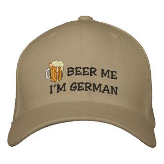 """Lustiger Deutscher """"ich bin deutsches Bier ich"""" Bestickte Kappe"""