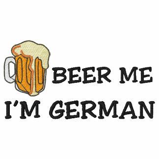 """Lustiger Deutscher """"ich bin deutsches Bier ich"""" Besticktes Polo"""