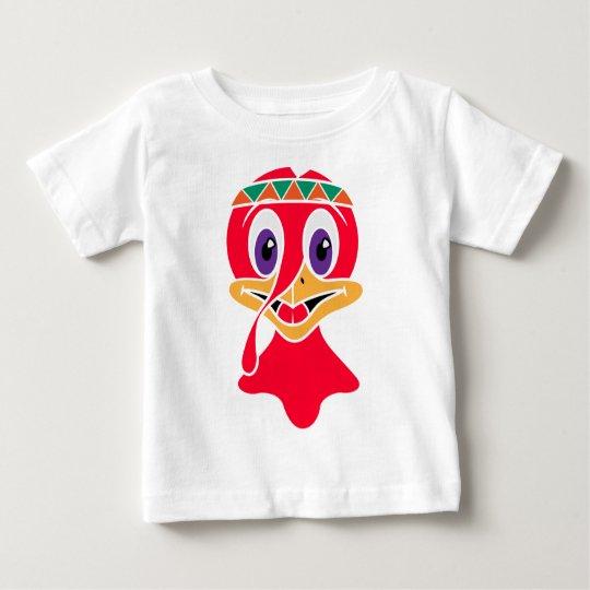 Lustiger die Türkei-Erntedank-Tag Baby T-shirt