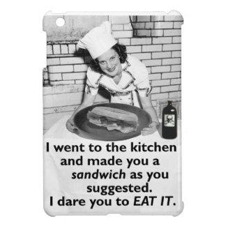 Lustiger Feminist machen mich ein Sandwich iPad Mini Hülle