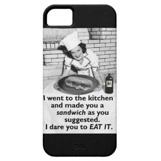 Lustiger Feminist machen mich ein Sandwich iPhone 5 Schutzhüllen