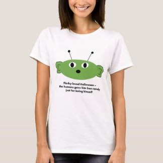 Lustiger Florky Halloween T - Shirt