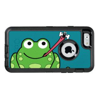 Lustiger Frosch und Fliege OtterBox iPhone 6/6s Hülle