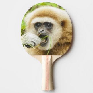 Lustiger Gibbon - Klingeln Pong Paddel Tischtennis Schläger