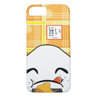 Lustiger gieriger Japaner Manga Onigiri iPhone 8/7 Hülle