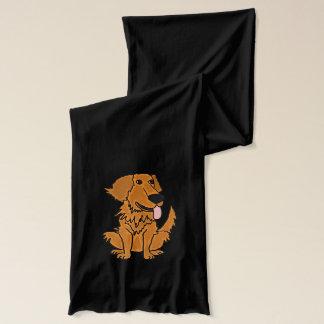 Lustiger golden retriever-Hundeschal Schal